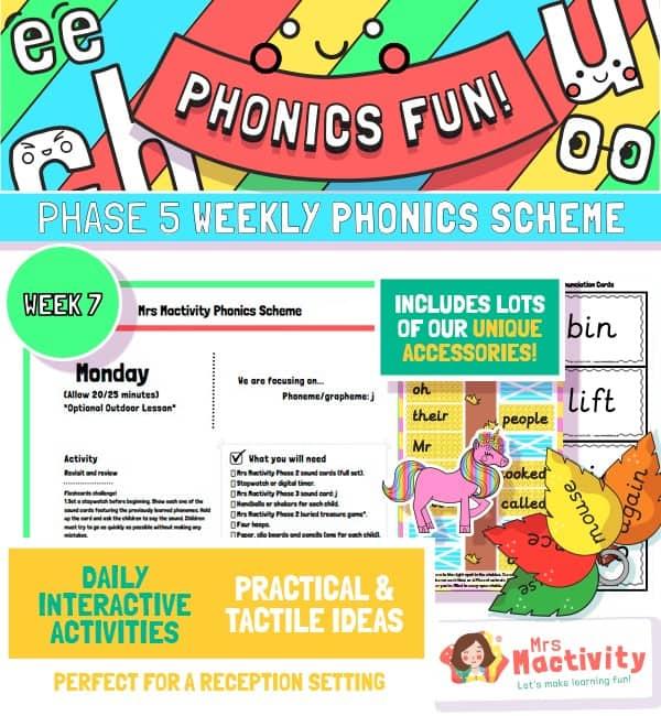 primary phonics scheme for schools