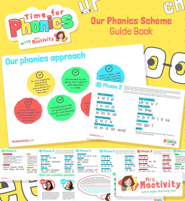 phonics scheme lesson plans activities resources